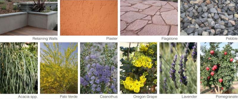 متریال منظرپردازی خشک