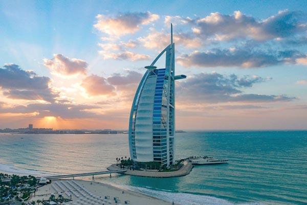 معماری شهرها - دبی