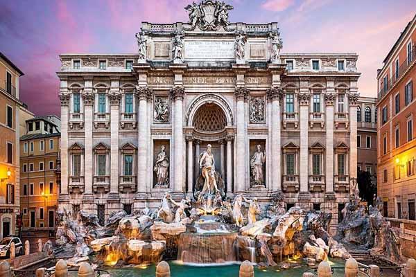 معماری شهرها - رم