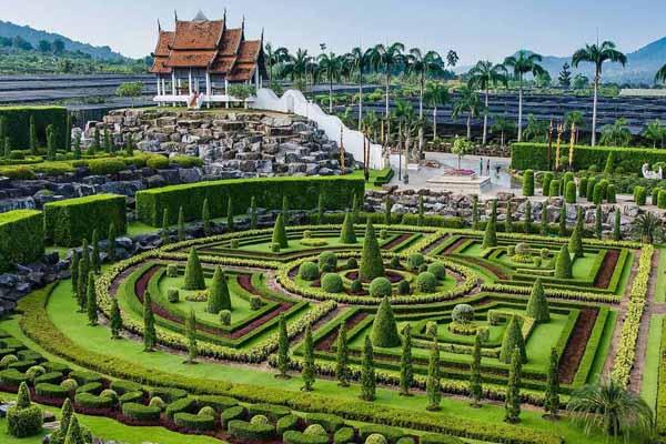 باغ گیاه شناسی گرمسیری Nong Nooch